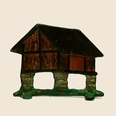 Mignot 1904A: Small Gallic hut on pilings p165