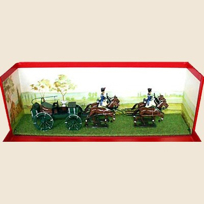 Mignot 817: Field Forge with 4 Horses + 2 figures - page 180 ATT - SOLD OUT