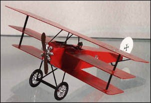 Mignot 1573: GermanFokker Triplanewith theRed Baron- boxed - page 194 AVION