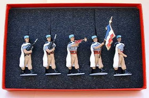 Mignot 159: Spahis Regt. de Valence Colour Party -NEW INF5