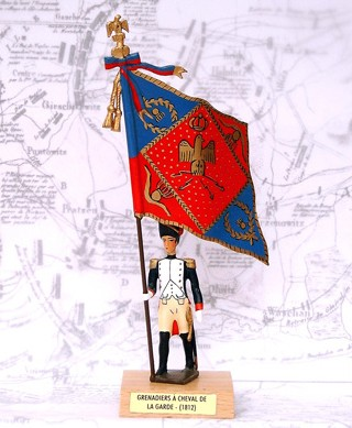 Mignot 931 - FLAG - Grenadiers a Cheval - Boxed - P. 178 - INF1
