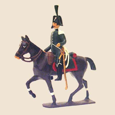 Mignot 138B: Customs Regiment Mounted Brigadier -RARE CAV1