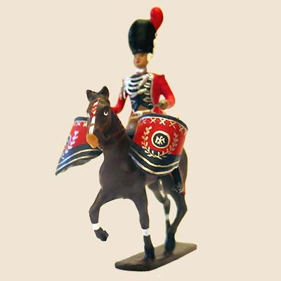 Mignot 763 - Mounted Timballier de Grenadiers a Cheval - CAV1 - SOLD OUT