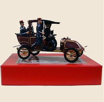 Mignot 1543: Taxi de la Marne with driver + 3 Fr. Inf. Blue/Red p.194 VEH  - SOLD OUT