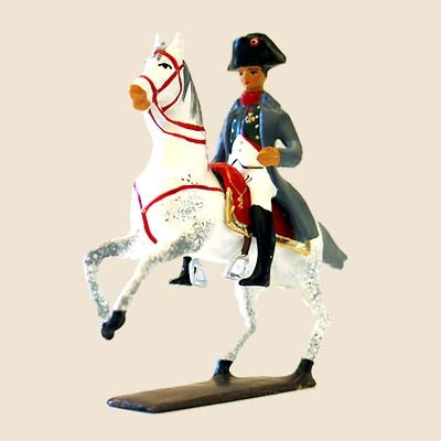 Mignot 653: Napoleon I - Mounted - grey riding coat - boxed - page 49 CAV1