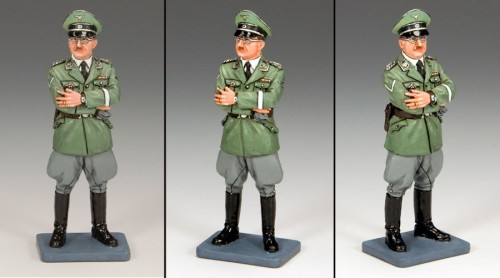 King and Country LAH145: Reichsfuhrer Heinrich Himmler in a Field Grey Uniform