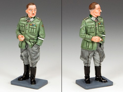 King and Country LAH146: Sepp Dietrich at Ease in a Field Grey Uniform