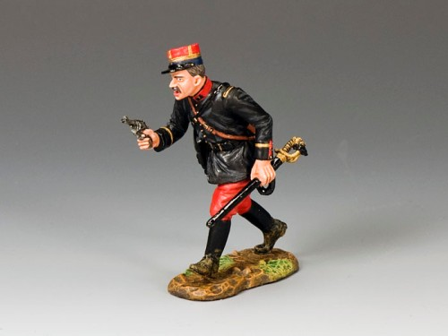 King and Country FW074: French Officer with Pistol and Sword