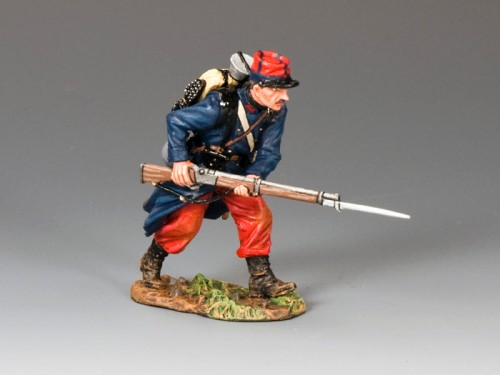 King and Country FW077: Poilu Advancing with Bayonet