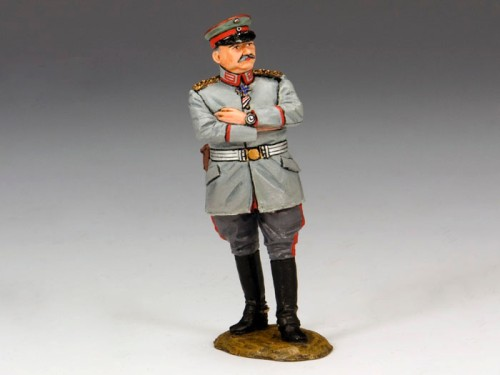King and Country FW095: Feld Marshal Karl von Bulow - Field Uniform and cap