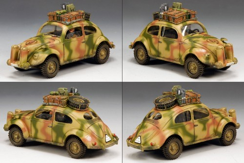 "King and Country WS194: RARE - Waffen 5th SS ""Viking"" Division VW Set (ONLY 250 MADE) - RETIRED"