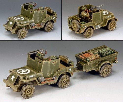 King and Country DD161: US Armored Jeep