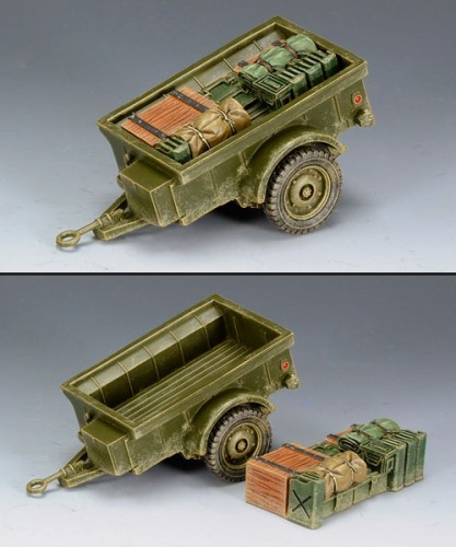 King and Country DD162: US Trailer for Jeep or Dingo