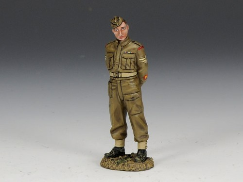 King and Country FOB073: Sapper Sergeant