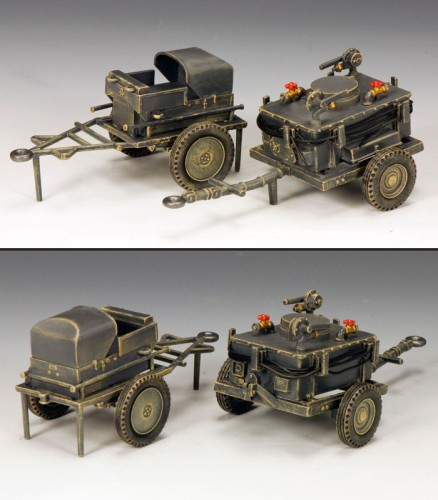 King and Country LW034: Airfields Refueling Carts