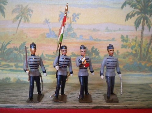 Mignot 158G: Hungarian Presidential Guard -Colour Party -Summer INF5