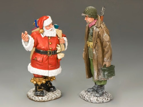 """King and Country XM010-02: """"Anything for me, Santa?"""" (Only 600 Made)"""