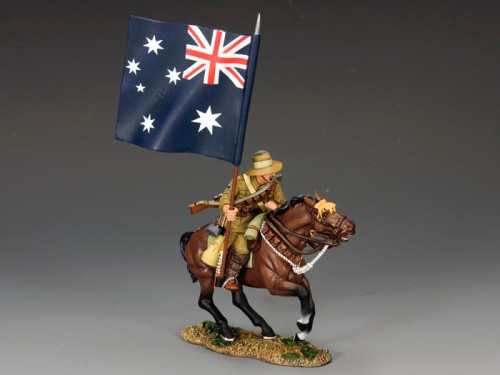 King and Country AL026: Aussie Flagbearer