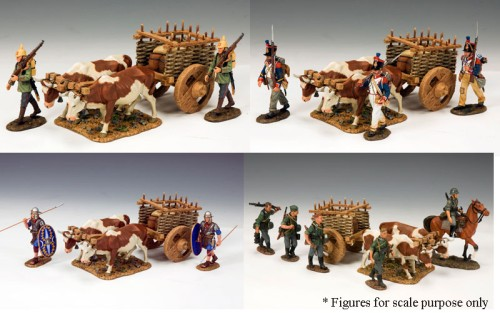 King and Country LOJ020: Ox Cart