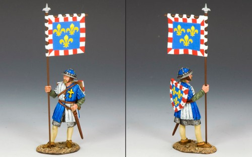King and Country MK088: Royal Man-at-Arms with Banner