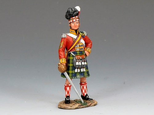 King and Country NA212: Gordon Highlanders Sergeant Major