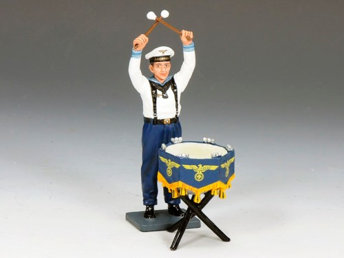 King and Country LAH162: KM Kettle Drummer