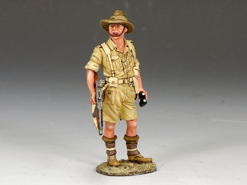King and Country EA073: Aussie with Rifle at the Trail - SOLD OUT