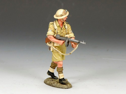 King and Country EA068: Aussie Sergeant with Tommy Gun - SOLD OUT