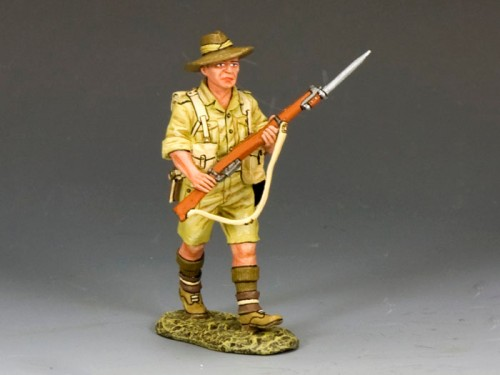 King and Country EA070: Aussie Advancing with Rifle