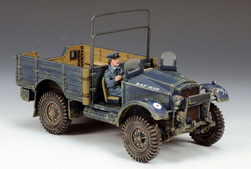 King and Country RAF037: Morris CS8 British 15 Cwt Truck (Only 250 Made)