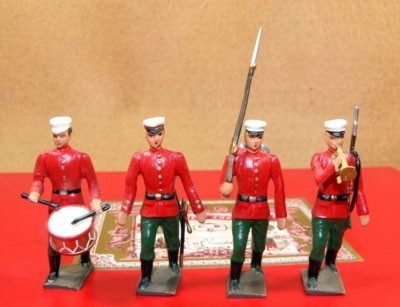 Mignot 090: Royal Siamese Guard; O, F, D, T + 8 rifles page98 INF12