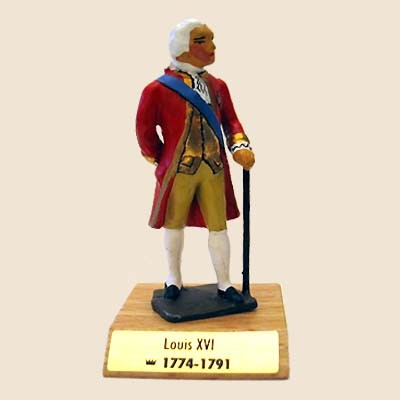 Mignot K37 - Louis XVI (1754-1774-1792-1793) - Boxed with wood base - INF1 - SOLD OUT