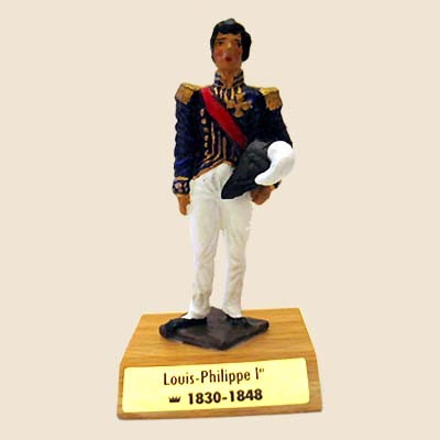 Mignot K40 - Louis Philippe 1er (1773-1830-1848-1850) - Boxed with wood base - INF1