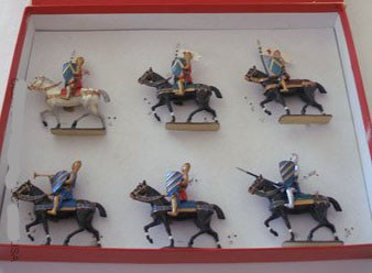 Mignot 203: Crusaders; O, F, T + 3 knights page 36 CAV6 - SOLD OUT