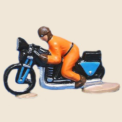 Mignot 6852_Y: Official Motorcycle Guide - Yellow