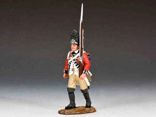King and Country BR086: Marching Fusileer