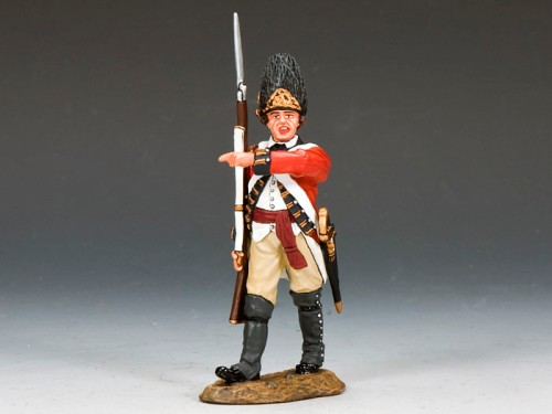 King and Country BR085: Marching Officer