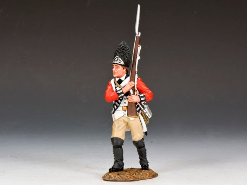 King and Country BR087: Marching Fusileer