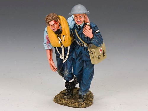 King and Country RAF040: RAF Medic & Wounded Pilot