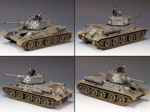 King and Country WS199: T34/76 - German Version - (ONLY 250 PRODUCED)