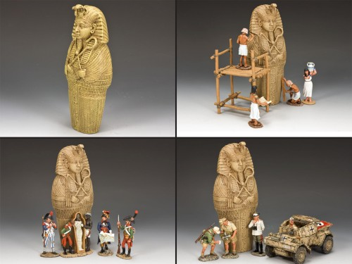 King and Country AE047: The Mummy's Statue
