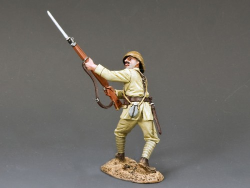 King and Country AL034: Turkish Soldier Thrusting Bayonet