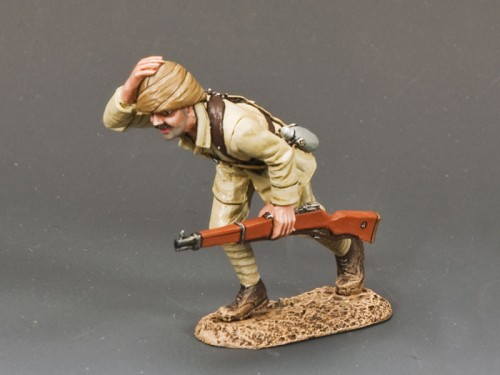 King and Country AL035: Turkish Soldier Running