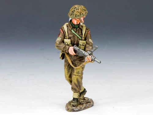 King and Country DD165: Sergeant with Sten Gun