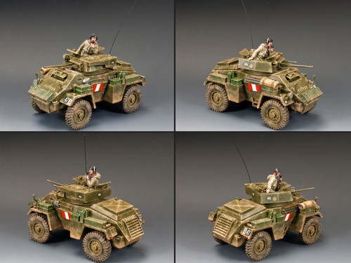 King and Country DD176: The Humber Mk.II Armoured Car