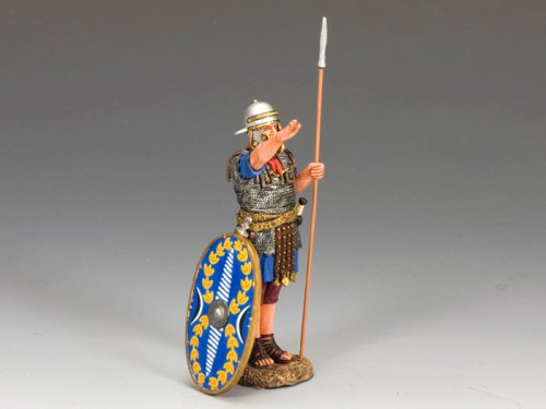 King and Country LOJ022: Roman Auxiliary Saluting