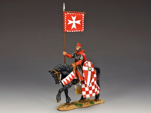 King and Country MK090: Mounted Knight Hospitaller
