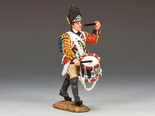 King and Country BR083: Marching Drummer
