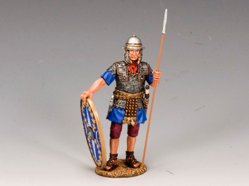 King and Country LOJ014: Auxiliary w/ Shield and Spear