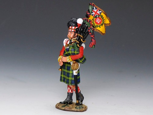 King and Country NA215: Gordons Highlanders Bagpiper